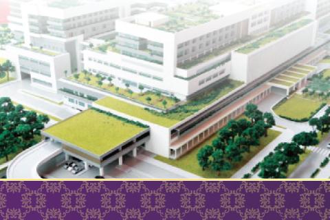 พิธีวางศิลาฤกษ์สถาบันการแพทย์แห่งใหม่ คณะแพทยศาสตร์โรงพยาบาลรามาธิบดี