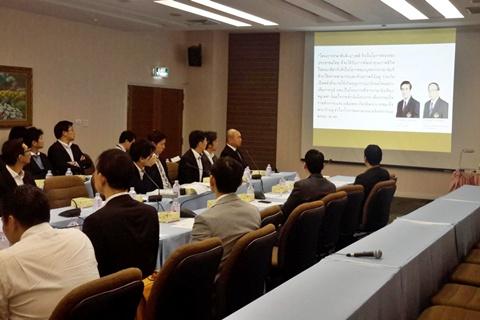 ทีมงานจากประเทศญี่ปุ่นมาดูงานอุปกรณ์การแพทย์