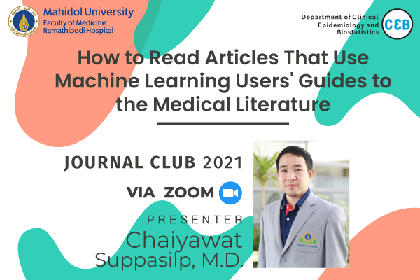 Journal Club 21 May 2021
