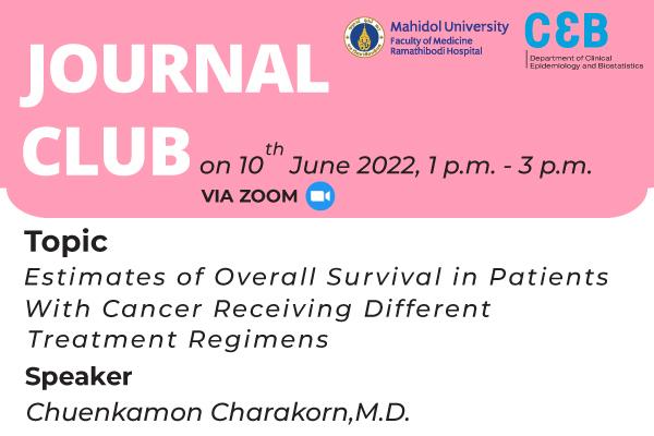 Journal Club 2 April 2021