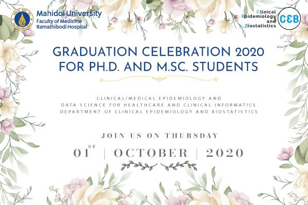 Graduation Celebration 2020