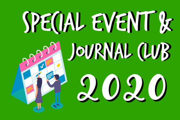 Special Events Timetable for 2020
