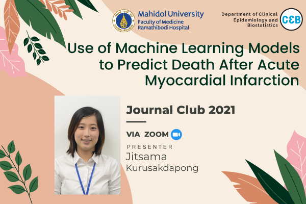 Journal Club 18 June 2021