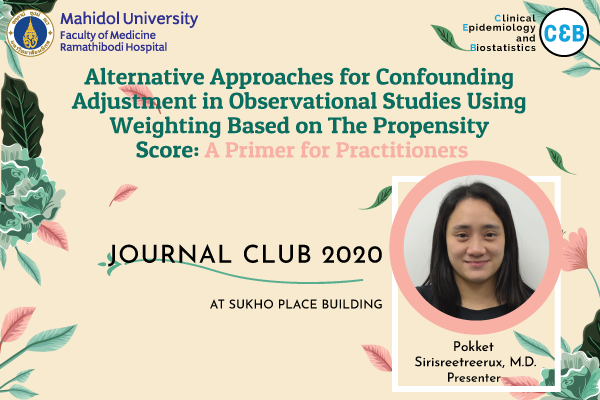 Journal Club 16 October 2020