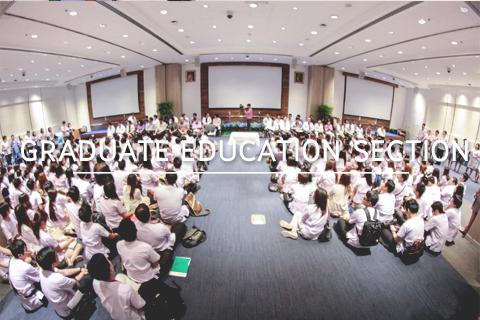 งานปฐมนิเทศบัณฑิตศึกษา ให้แก่บัณฑิตศึกษาเมื่อวันที่ 18 ส.ค. 60