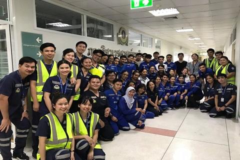 การฝึกอบรมตอบสนองต่อภาวะฉุกเฉินทางการแพทย์ในรูปแบบของ Thai Simulation Training (ThaiSim) แก่เจ้าหน้าที่พยาบาลเครือโรงพยาบาลกรุงเทพ