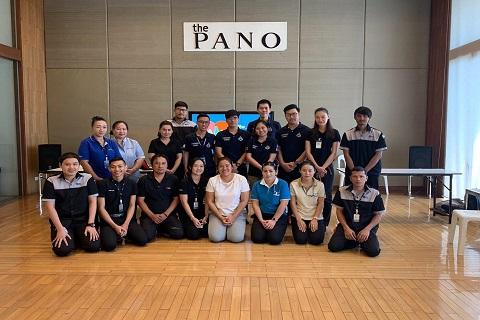 อบรมการกู้ชีพแก่โครงการ THE PANO พระราม 3