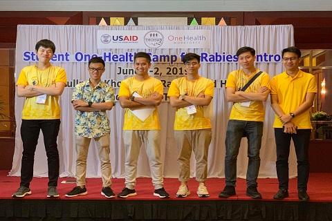 """เข้าร่วมอบรมเชิงปฏิบัติการ """"Student One Health Camp for Rabies Control"""""""