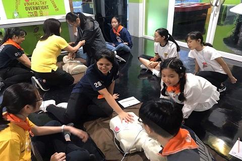กิจกรรม Young Doctor Explorer Camp ครั้งที่ 2 โดยองค์การพิพิธภัณฑ์วิทยาศาสตร์แห่งชาติ หรือ อพวช.