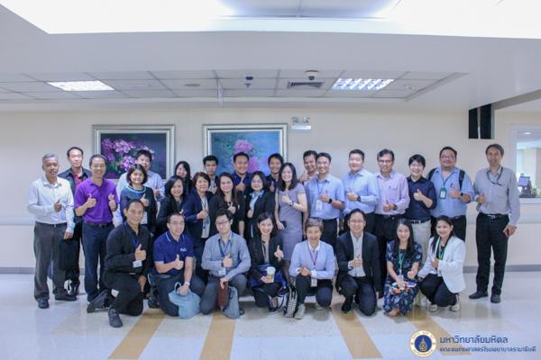 CIO10 ศึกษาดูงาน ณ อาคารสมเด็จพระเทพรัตน์ คณะแพทยศาสตร์โรงพยาบาลรามาธิบดี