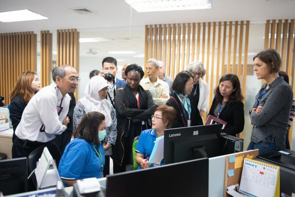 Prince Mahidol Award Delegates Site Visit at Ramathibodi Hospital