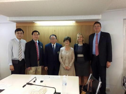 Swedish Ob&Gyne Professors visited Dean