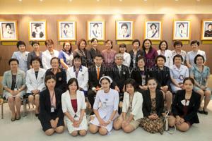 พิธีการเปิดหลักสูตรฝึกอบรมพยาบาลขั้นสูงระดับวุฒิบัตร ประจำปีการศึกษา พ.ศ.2559