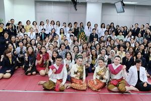 ปฐมนิเทศนักศึกษาใหม่ หลักสูตรพยาบาลศาสตรมหาบัณฑิต ประจำปีการศึกษา 2562