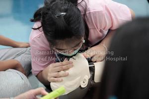 โครงการฝึกปฏิบัติการช่วยฟื้นคืนชีวิตขั้นพื้นฐานสำหรับพยาบาล (Basic Life Support : BLS) รุ่นที่ 5