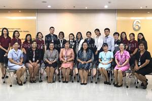 ปฐมนิเทศนักศึกษาใหม่ หลักสูตรพยาบาลศาสตรมหาบัณฑิต ประจำปีการศึกษา 2561