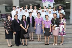 โครงการแลกเปลี่ยนนักศึกษาพยาบาลจาก School of Nursing, Faculty of Medicine, Universitas Gadjah Mada และ St.Luke's International University