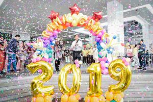 โรงเรียนพยาบาลรามาธิบดีร่วมจัดซุ้มเกมส์ในงานวันรามาสามัคคี ประจำปี 2561