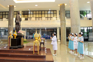 พิธีมอบหมวกพยาบาล แก่นักศึกษาพยาบาลชั้นปีที่ 2 ประจำปี 2561