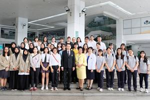 ต้อนรับอาจารย์และนักศึกษาพยาบาลแลกเปลี่ยนจาก ประเทศญี่ปุ่น ประเทศไต้หวัน และประเทศอินโดนีเซีย