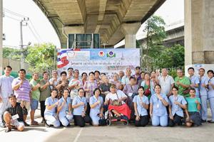 หลักสูตรพยาบาลศาสตรมหาบัณฑิต สาขาวิชาการพยาบาลเวชปฏิบัติชุมชน จัดโครงการ เฒ่าทันโรค เท่าทันสื่อ ครั้งที่ 2 ร่วมกับชุมชน