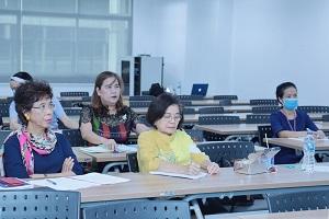 มูลนิธิศูนย์นมแม่แห่งประเทศไทย เข้าตรวจเยี่ยมและติดตามผลการดำเนินงานของศูนย์พัฒนาเด็กปฐมวัย โรงพยาบาลรามาธิบดี