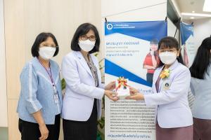 ผู้อำนวยการโรงเรียนพยาบาลรามาธิบดี คณะแพทยศาสตร์โรงพยาบาลรามาธิบดี มหาวิทยาลัยมหิดล เข้าร่วมพิธีมอบของที่ระลึก แด่ผู้บริหารที่เกษียณอายุงาน ประจำปี 2564