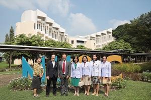 ผู้อำนวยการโรงเรียนพยาบาลรามาธิบดี นำทีมผู้บริหารและบุคลากรโรงเรียนพยาบาลรามาธิบดีศึกษาดูงาน ที่ มหาวิทยาลัยมหิดล ศาลายา