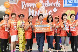"""โรงเรียนพยาบาลรามาธิบดีเข้าร่วมกิจกรรม """"เดิน-วิ่ง Ramathibodi Nurse Fun Run 4.5km."""""""
