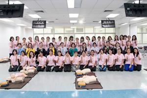 โครงการฝึกปฏิบัติการช่วยฟื้นคืนชีวิตขั้นพื้นฐานสำหรับพยาบาล (Basic Life Support : BLS) รุ่นที่ 1