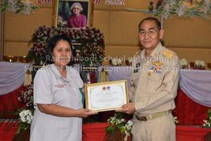 โรงเรียนพยาบาลรามาธิบดี ขอแสดงความยินดีแก่ศิษย์เก่าหลักสูตรพยาบาลศาสตรมหาบัณฑิตที่ได้รับรางวัล