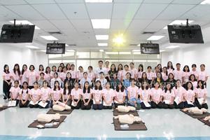 โครงการฝึกปฏิบัติการช่วยฟื้นคืนชีวิตขั้นพื้นฐานสำหรับพยาบาล (Basic Life Support : BLS) รุ่นที่ 2