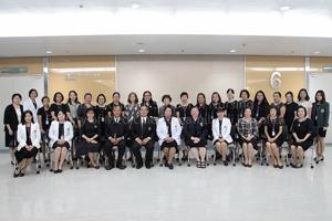 ผลการตรวจประเมินหลักสูตรพยาบาลศาสตรบัณฑิตเบื้องต้น ด้วยเกณฑ์ AUN-QA โดยผู้แทนจากมหาวิทยาลัย