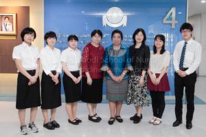 ต้อนรับอาจารย์และนักศึกษาพยาบาลแลกเปลี่ยนจาก ประเทศญี่ปุ่น และประเทศไต้หวัน