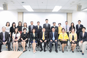ต้อนรับคณะผู้บริหารจาก Peking University School of Nursing สาธารณรัฐประชาชนจีน