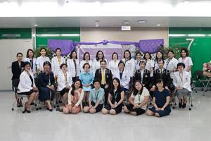 พิธีเปิดการฝึกอบรมและปฐมนิเทศหลักสูตรฝึกอบรมพยาบาลขั้นสูงระดับวุฒิบัตร ประจำปีการศึกษา พ.ศ.2562