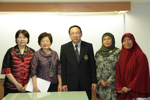 Welcome executives from School of Nursing, Faculty of Medicine, Universitas Gadjah Mada, Indonesia.