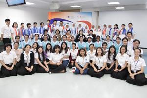นักศึกษาโครงการแลกเปลี่ยน จาก Osaka Medical College ประเทศญี่ปุ่น