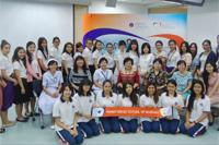 นักศึกษาพยาบาลจำนวน 3 คน จาก School of Nursing, College of Medicine, National Taiwan University ประเทศไต้หวัน ได้เข้าร่วมโครงการนักศึกษาแลกเปลี่ยนมาศึกษาดูงาน ณ โรงเรียนพยาบาลรามาธิบดี