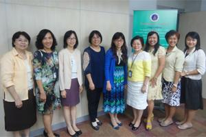 ต้อนรับคณะผู้บริหารจาก School of Nursing, College of Medicine, National Taiwan University ประเทศไต้หวัน