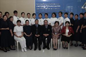 ต้อนรับ Professor TSAI CHUAN-HSIU และคณะนักศึกษาพยาบาล จาก Department of Nursing,  Tzu Chi University ไต้หวัน และคณะคุณยงเกียรติ เกียรติเสริมสกุล จากมูลนิธิพุทธฉือจี้ไต้หวันในประเทศไทย