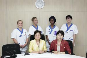 ต้อนรับนักศึกษาพยาบาลจาก Uppsala University ประเทศสวีเดน ระหว่างวันที่ 9 มีนาคม ถึง 9เมษายน 2558 ณ โรงเรียนพยาบาลรามาธิบดี