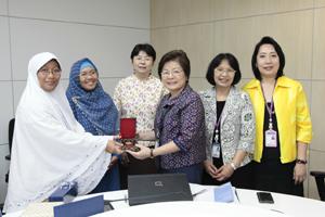 ต้อนรับคณะผู้บริหารจาก School of Nursing Universitas Gadjah Mada (UGM) ประเทศอินโดนีเซีย