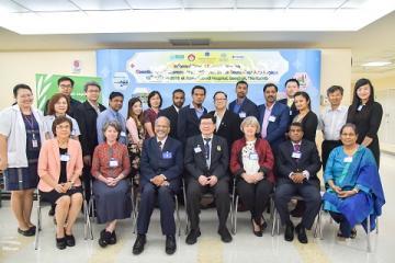 ร่วมต้อนรับคณะผู้แทนองค์การอนามัยโลกประจำภูมิภาคเอเชียใต้และตะวันออก (WHO-SEARO) และแพทย์ผู้เชี่ยวชาญด้านพิษวิทยาจากประเทศต่างๆ