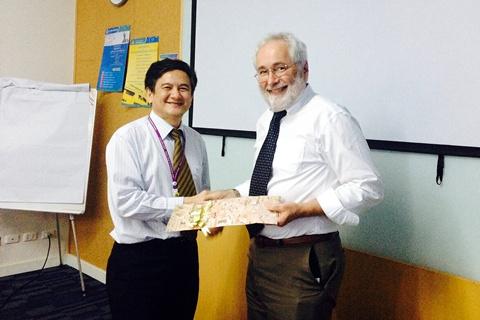 Prof. Terence A. Ketter ได้ให้เกียรติมาบรรยายแก่ภาควิชาจิตเวชศาสตร์ โรงพยาบาลรามาธิบดี