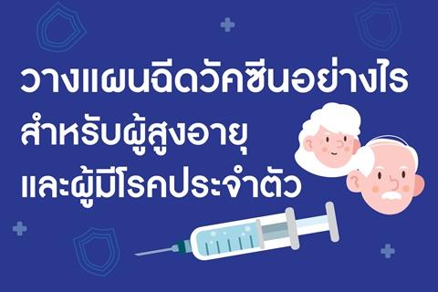 วางแผนฉีดวัคซีนอย่างไร สำหรับผู้สูงอายุและผู้มีโรคประจำตัว