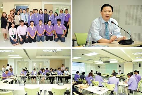 ต้อนรับทีมผู้บริหารและเจ้าหน้าที่จากศูนย์การแพทย์สมเด็จพระเทพรัตนราชสุดาฯ สยามบรมราชกุมารี คณะแพทยศาสตร์ มหาวิทยาลัยศรีนครินทรวิโรฒ เข้าศึกษาดูงาน