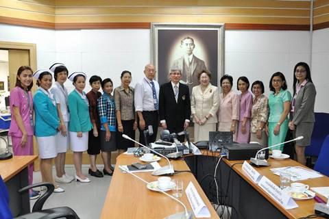 งานพัฒนาคุณภาพงานให้การต้อนรับคณะเยี่ยมสำรวจจากสมาคมส่งเสริมคุณภาพแห่งประเทศไทย