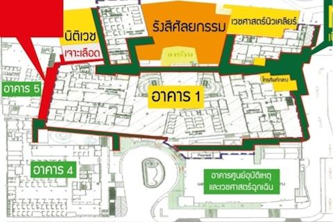ปิดปรับปรุงอาคาร 1 (ชั้น 1 และ 2) และเส้นทางสัญจรภายในอาคาร
