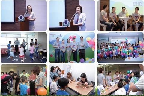 CHD Camp ค่ายกิจกรรมสำหรับเด็กโรคหัวใจพิการแต่กำเนิด ครั้งที่ 1